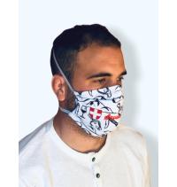 Masque protection covid 19  Savoie bien blanc