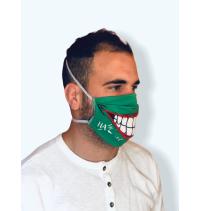 Masque protection covid 19 Joker vert