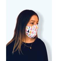 Masque protection covid 19 Géométrique