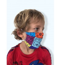Masque protection covid 19 Arlequin