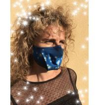 Masque protection covid 19 Noël Etoiles