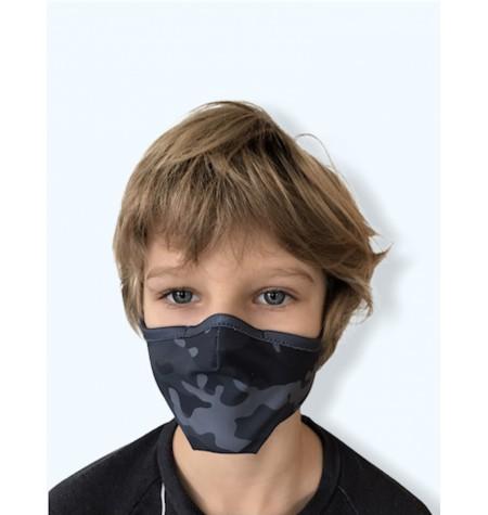 Masque Enfant Camo Gris