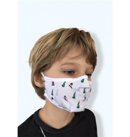 Masque Enfant Skieurs